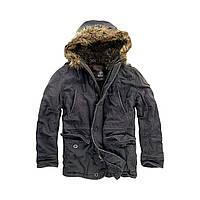 Куртка Brandit Vintage Explorer S Черная 3120.2-S, КОД: 260399