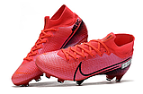 Бутсы Nike Mercurial Superfly VII Elite FG pink, фото 4