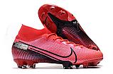 Бутсы Nike Mercurial Superfly VII Elite FG pink, фото 5