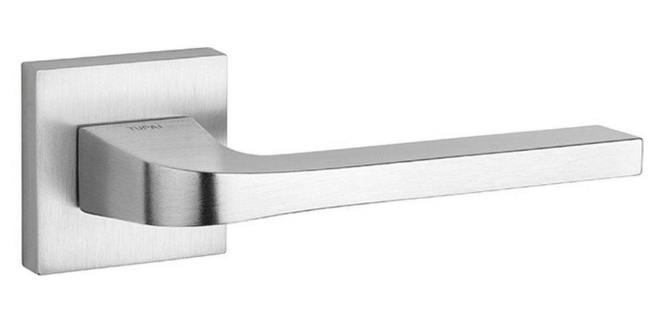 Ручка дверная Tupai Supra 3097 5SQ хром матовый (Португалия)