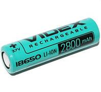 Акумулятор Videx 18650(высокотоковый) 2800mAh 20A
