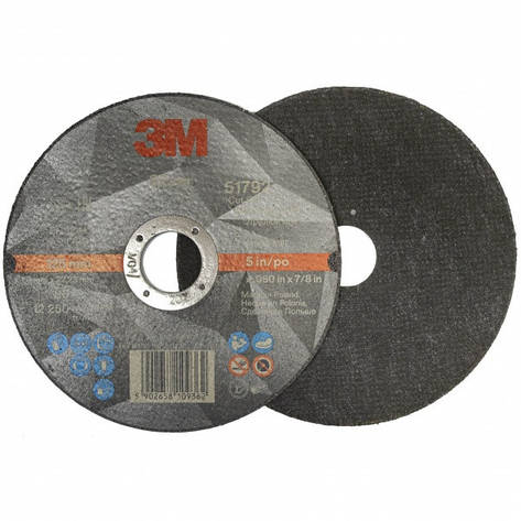 Круг отрезной для металла 3M Silver Т41 125х1,6х22,23мм, фото 2