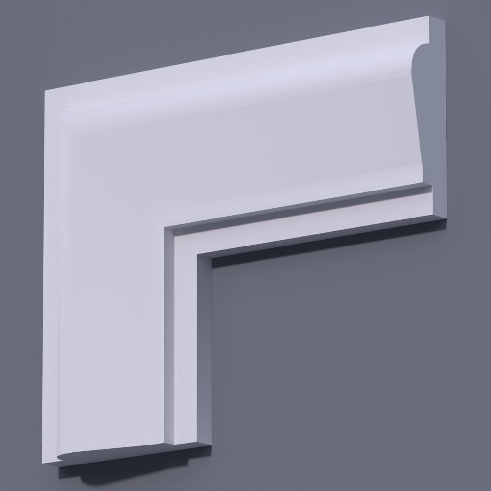 Фасадный молдинг (наличник) Фм-22 (h 190)