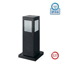 Светильник садово-парковый HOROZ ELECTRIC KAVAK/SQ-3 E27 IP44 300мм алюминий (черный)