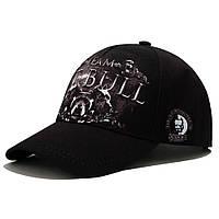 Бейсболка AMG Team Pitbull Ч/Б М 0426