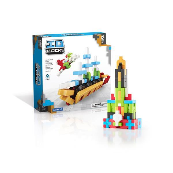 Конструктор Guidecraft IO Blocks, 192 детали (G9602)