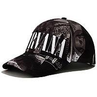 Бейсболка AMG Nirvana Ч/Б XL 0402