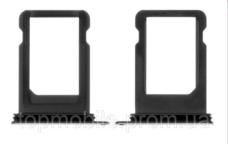 Держатель Sim-карты для iPhone X, черный