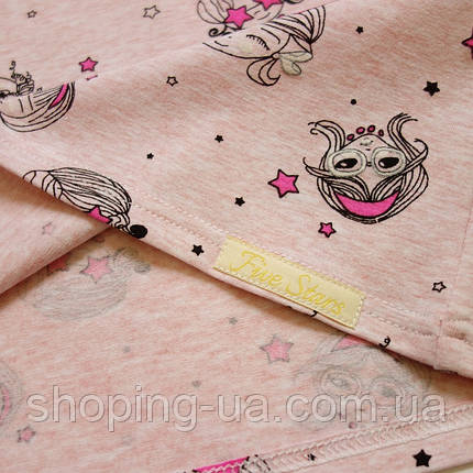 Детская футболка принцессы на розовом Five Stars KD0330-116p, фото 2