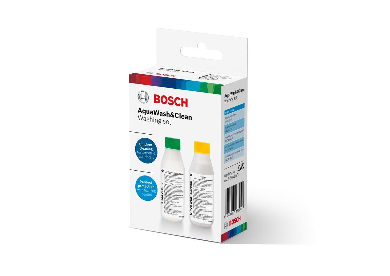 Шампунь и нейтрализатор пены для пылесосов  BOSCH BBZWDSET 00312086, 312133