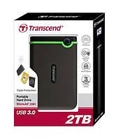 НЖМД Transcend StoreJet 2.5 USB 3.0 2TB серия M, TS2TSJ25M3