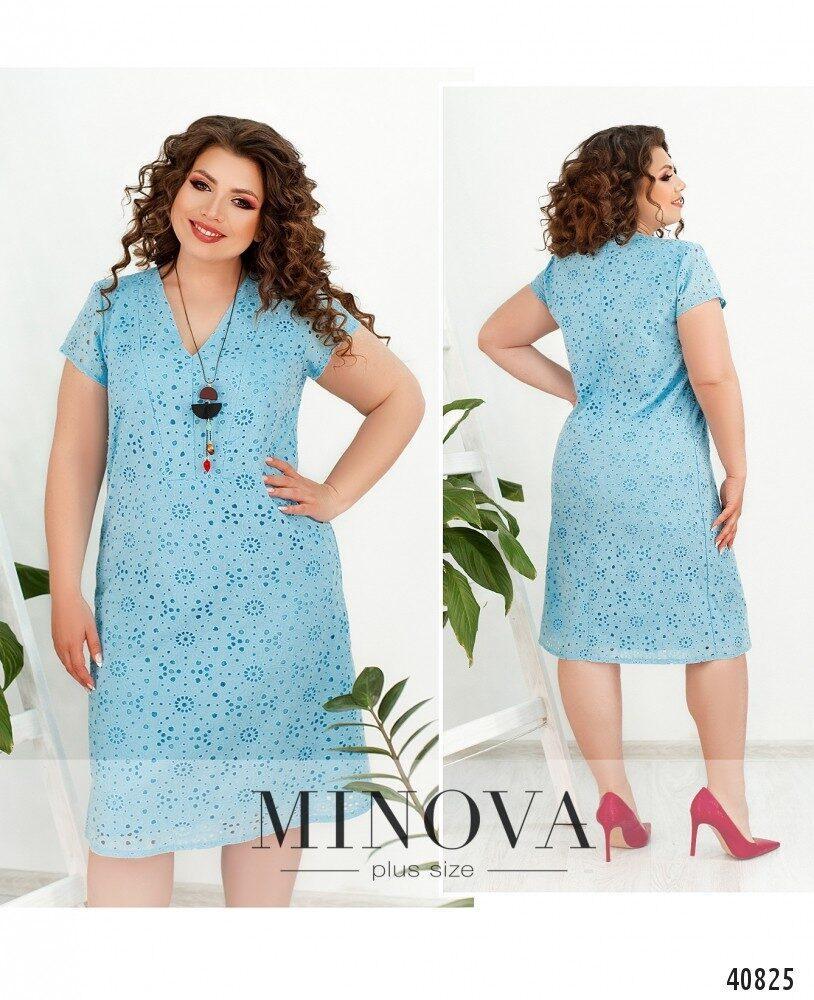 Нежное и нарядное платье большого размера батал размеры: 48,50,52,54