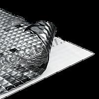Виброизоляция ACOUSTICS ALUMAT 370×500×3 мм Шумоизоляция Обесшумка Шумовка Шумоізоляція
