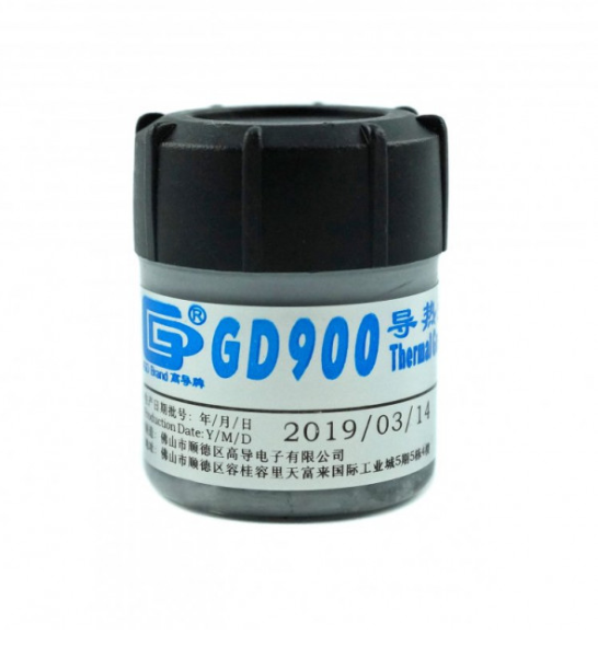Термопаста GD-900 банка 30 грам серая,  4.8W/m-K