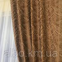 Готовий комплект штор в спальню зал вітальню, штори блекаут на вікна в кімнату дитячу хол зал, штори в кімнату квартиру кухню, фото 8