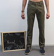Джинсы - брюки мужские болотные классические 31, 36 Le Gutti Турция