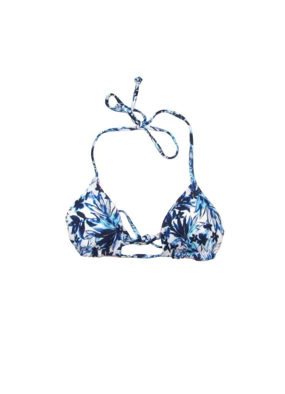 Купальный лиф C&A 158-164 см Белый с голубым (775032025338)
