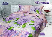 Комплект постельного белья Тиротекс Моника 3D Евро макси