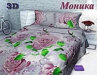 Комплект постельного белья Тиротекс Моника 3D 2-х спальный макси