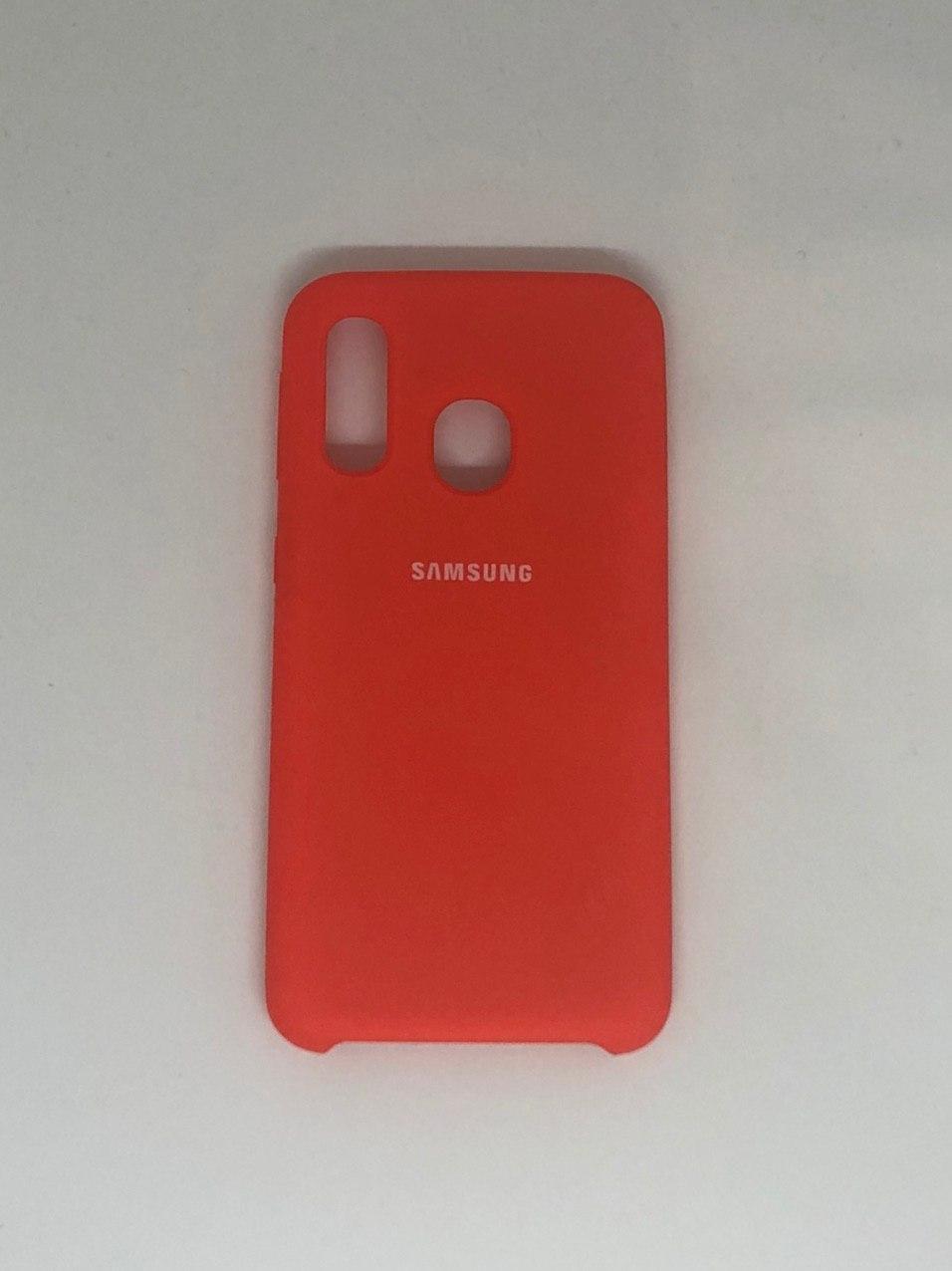 "Чехол на Samsung A40 №2 ""Абрикос"""