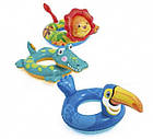 Детский надувной круг для плавания Intex 58221-2 | Плавательный круг для детей Крокодил, фото 3