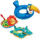 Детский надувной круг для плавания Intex 58221-2 | Плавательный круг для детей Крокодил, фото 2