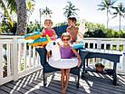 Детский надувной круг для плавания Intex 58221-2 | Плавательный круг для детей Крокодил, фото 4