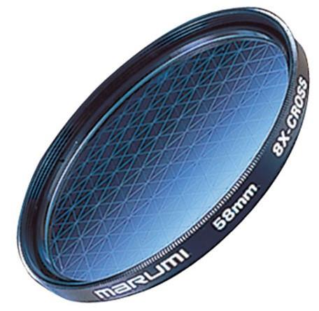 Светофильтр лучевой Marumi 8X-Cross 58 мм (62011)