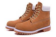 Ботинки мужские Timberland 6-inch Waterproof Boots Brown/White, фото 1