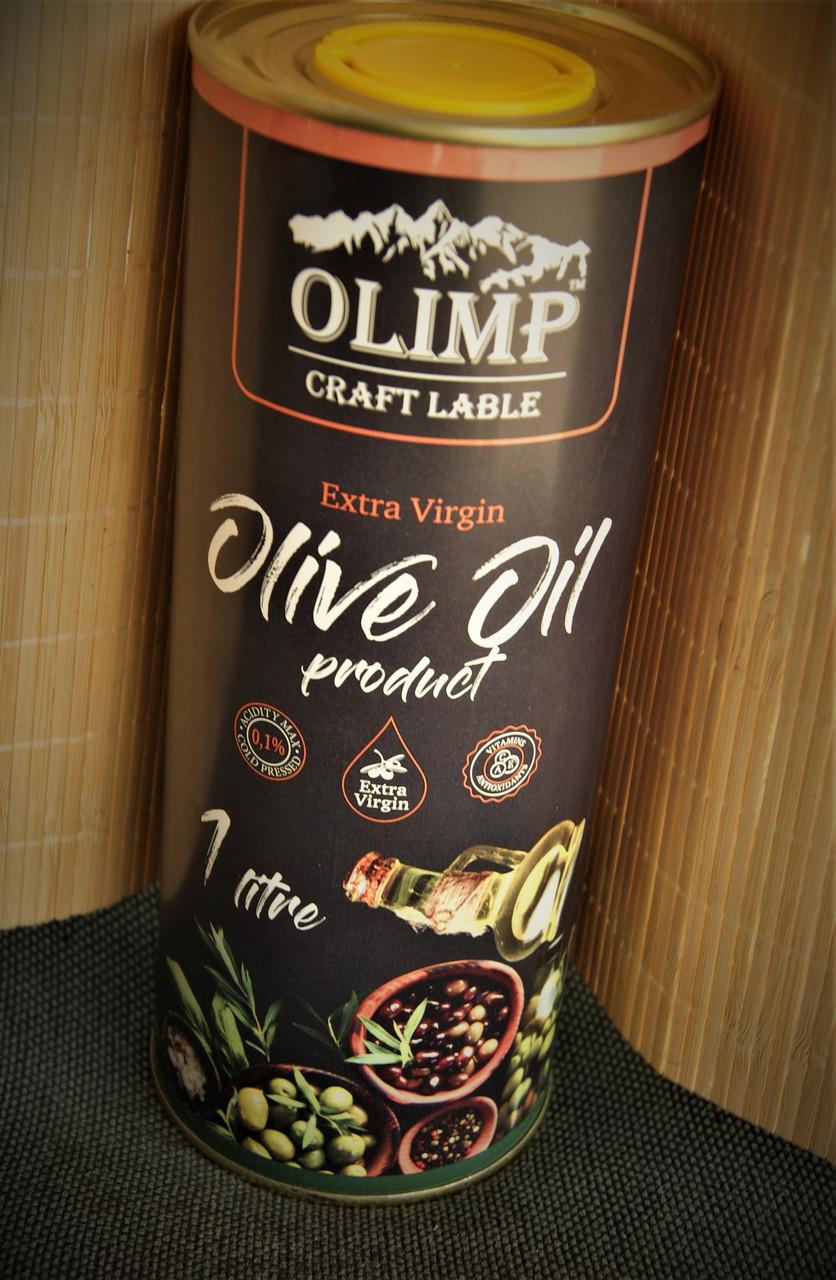 Масло оливковое олимп Black 1 л