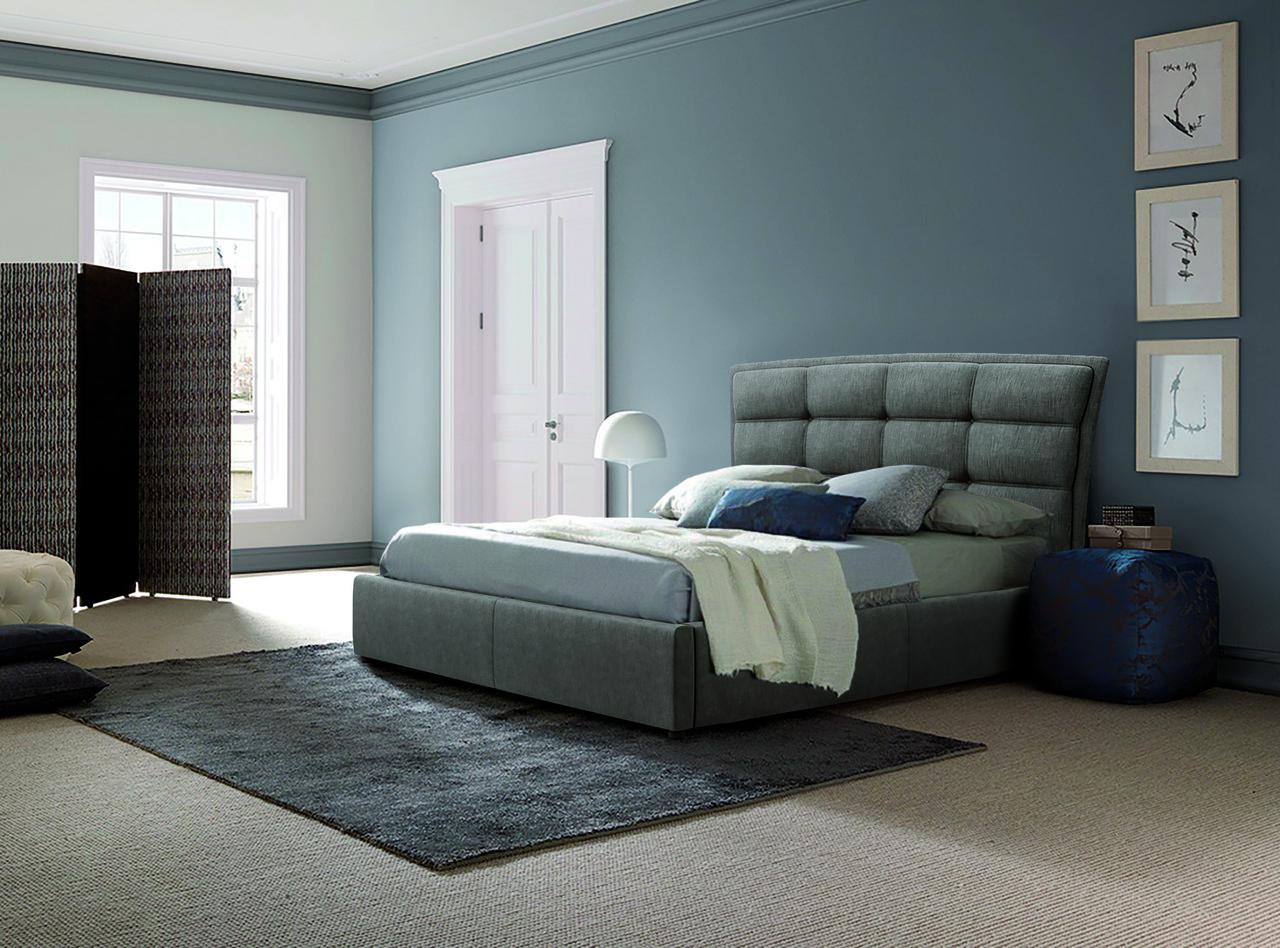 Ліжко Майямі серії Люкс з матрацом і ящиками для білизни