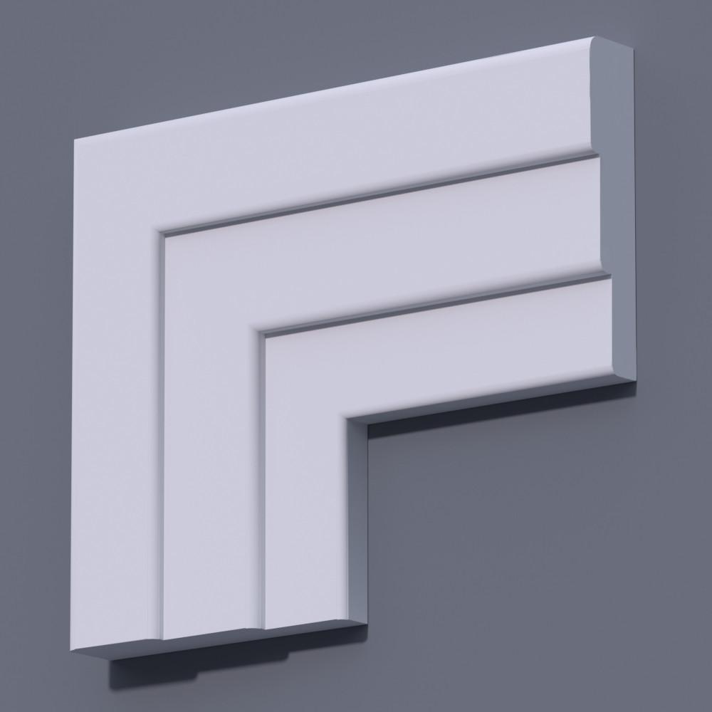 Фасадный молдинг (наличник) Фм-30 (h 160)