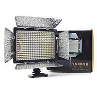 Накамерный свет Video Light Yongnuo YN-300 III +Аккумулятор Sony NP-750 и зарядное устроиство