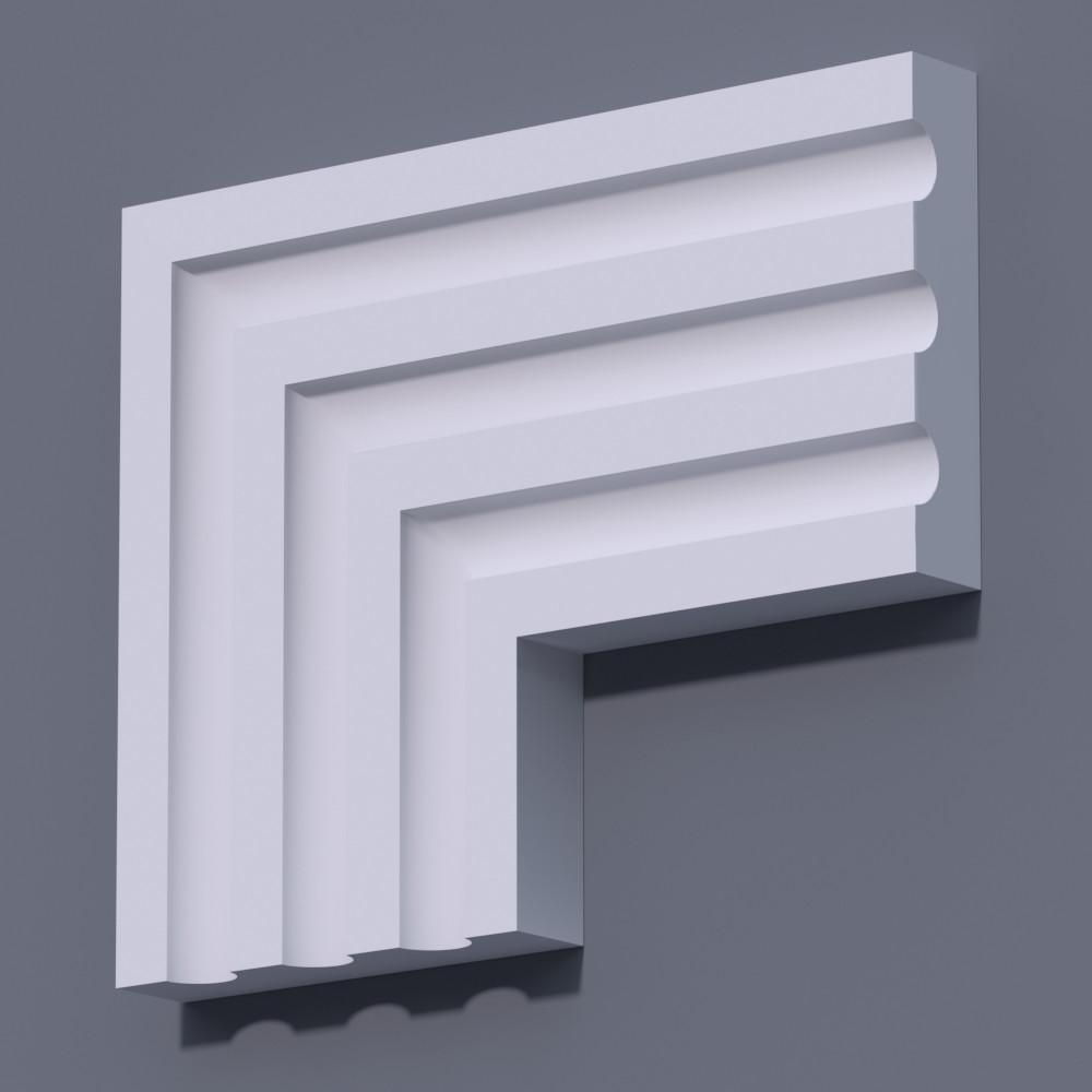 Фасадный молдинг (наличник) Фм-32 (h 170)