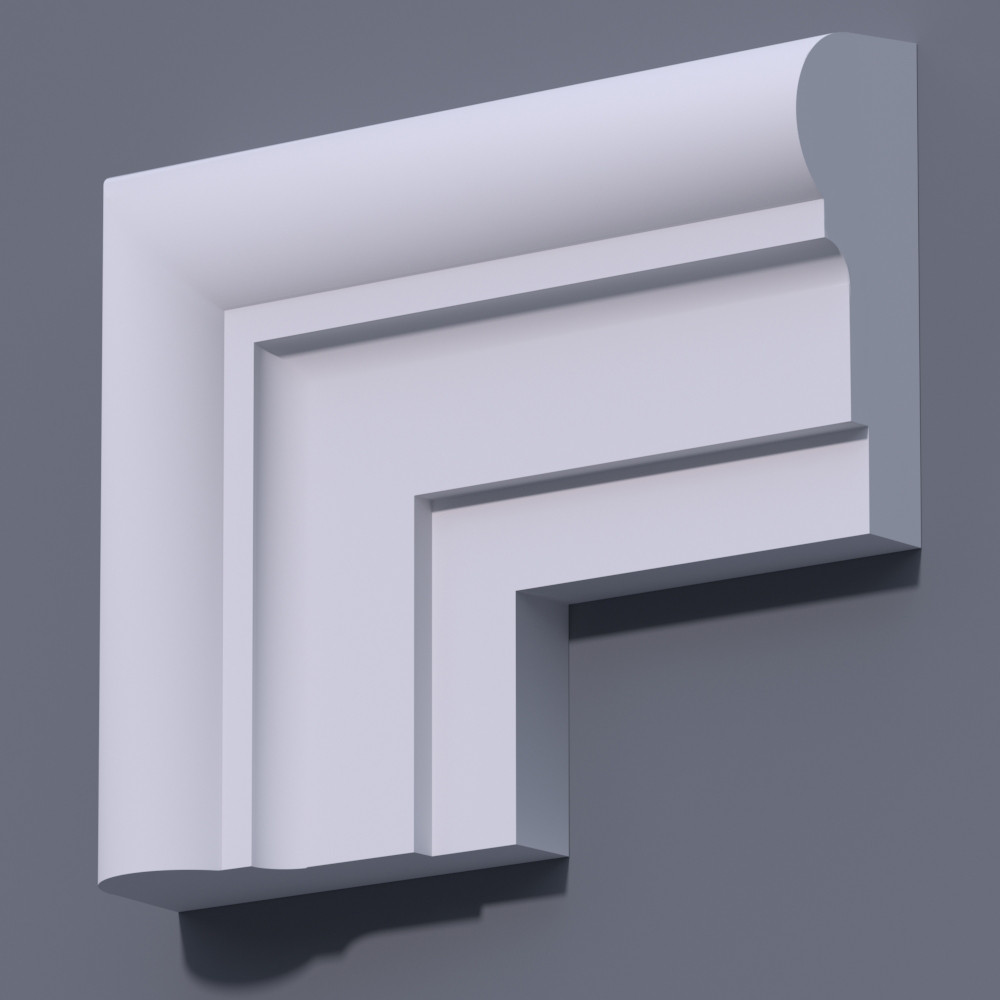 Фасадный молдинг (наличник) Фм-33 (h 160)