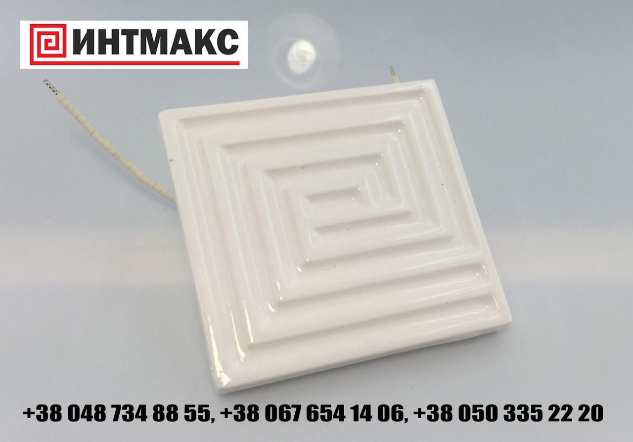 Плоскі ІК нагрівачі 122 * 60 мм; 350 Вт / 230