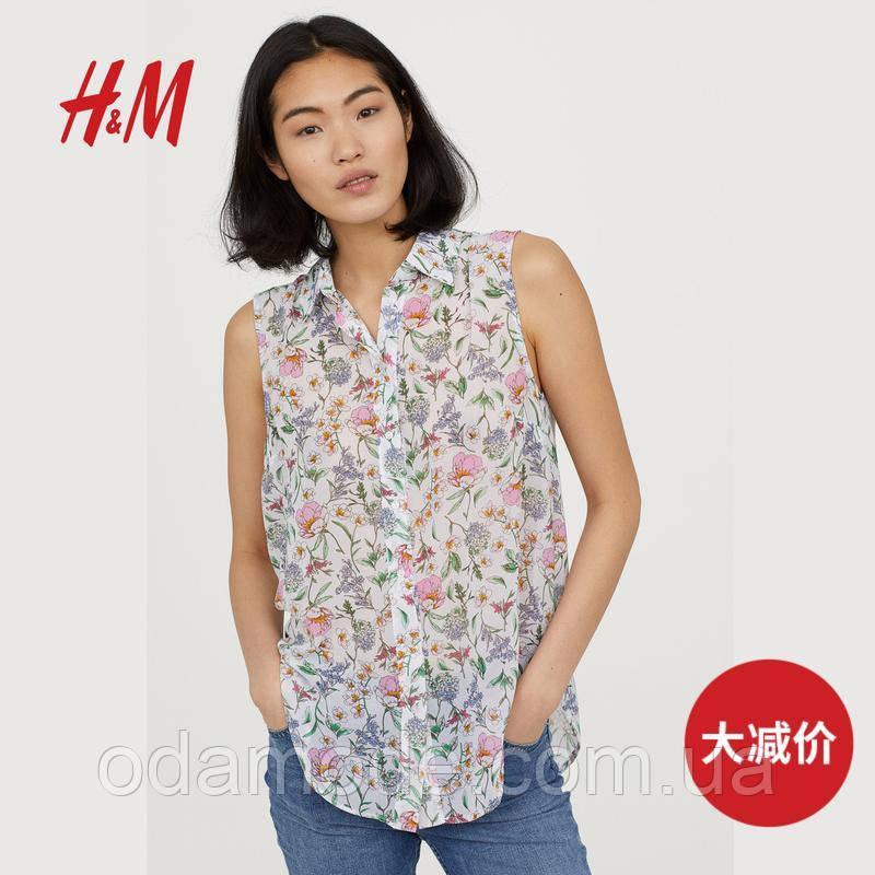 Блузка жіноча H&M в квіточку