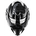 Шлем кроссовый с очками CKX HELM TITAN ORI DL SIDEHILL WH, фото 6