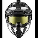 Шлем кроссовый с очками CKX HELM TITAN ORI DL SIDEHILL WH, фото 3