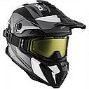 Шлем кроссовый с очками CKX HELM TITAN ORI DL SIDEHILL WH, фото 2