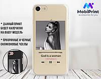 Силиконовый чехол для Samsung G973 Galaxy S10 Ариана Гранде (Ariana Grande) (28233-1624)