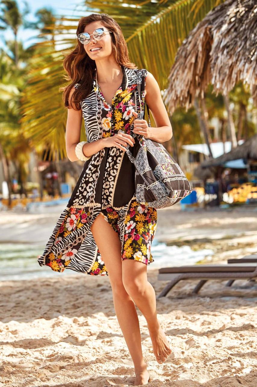 Платье Iconique M Разноцветный (58286)