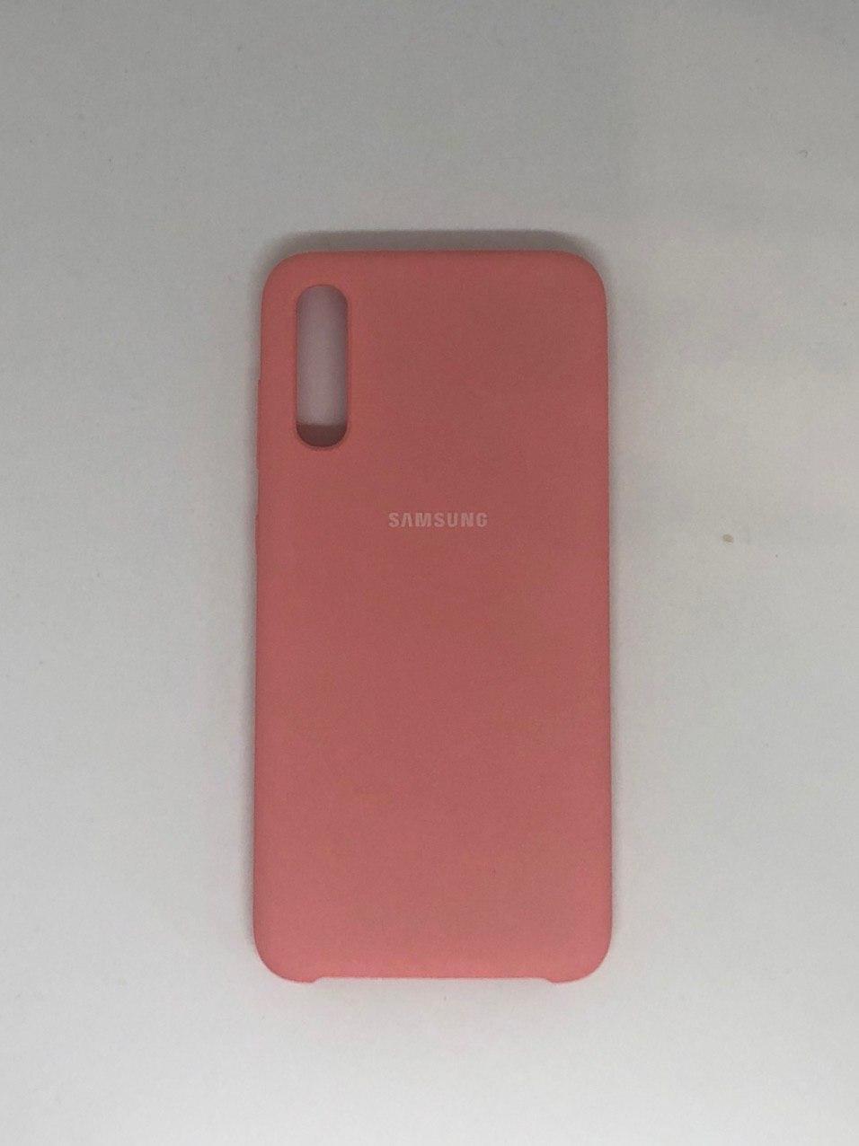 "Чехол Samsung A 70 №6 ""Цветущая роза"" Silicon Case"