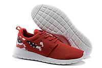Женские кроссовки Nike Roshe Run America. Беговые кроссовки