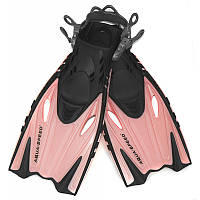 Ласты детские Aqua Speed Bounty 27-31 Розовый с Черным (aqs202)