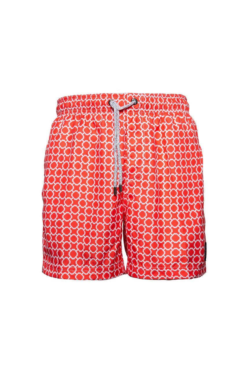 Пляжные шорты мужские IslandHaze Cell S Коралловый (isl0046)