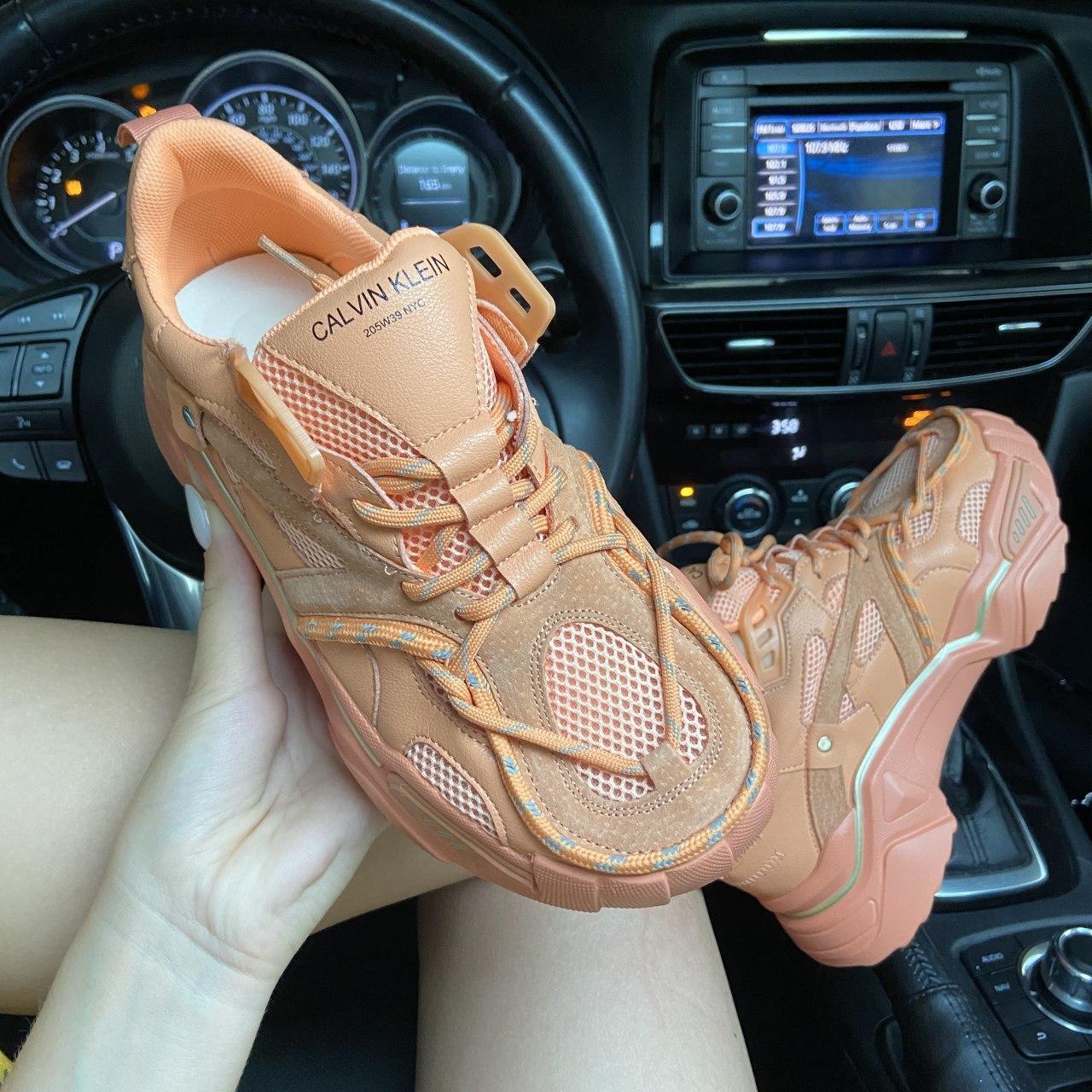 Кроссовки женские Strike 205 Orange. Стильные женские кроссовки CK.