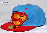 №209 Реперка Супермен. р.50-53 (3-6 лет), фото 2