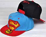 №209 Реперка Супермен. р.50-53 (3-6 лет), фото 4