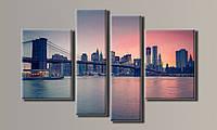 Модульная картина New York City-4 87х132 см (HAF-040)